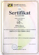 Certified ISO 50001